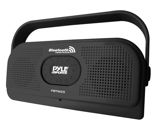 Pyle - AZPBTW20BK , Sports and Outdoors , Portable Speakers - Boom Boxes , Gadgets and Handheld , Portable Speakers - Boom Boxes , Surf Sound Party Waterproof Wireless Bluetooth Stereo Speaker with Microphone For Cell Phone Talking (Color Black)