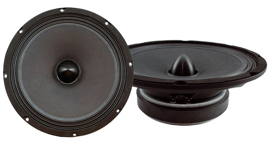 Pyle - PBW8S , Sound and Recording , Component Subwoofers, Midbass , 8'' High Power High Performance Midbass