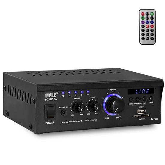 Pylehome Pcau35a Home And Office Amplifiers