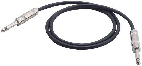 Pyle - PCBLG7F3 , Sound and Recording , Cables - Wiring - Adapters , 3Ft 1/4'' Male To 1/4'' Male Guitar / AMP / Instrument Cable