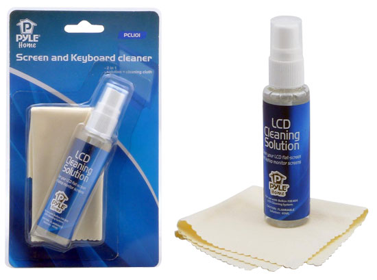 Pyle - PCL101 , Home and Office , TVs - Monitors , LCD Screen & Computer Keyboard Cleaning Kit