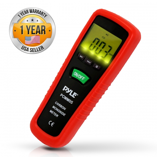 Pyle - PCMM05 , Tools and Meters , Carbon Monoxide - Leakage , Carbon Monoxide Meter