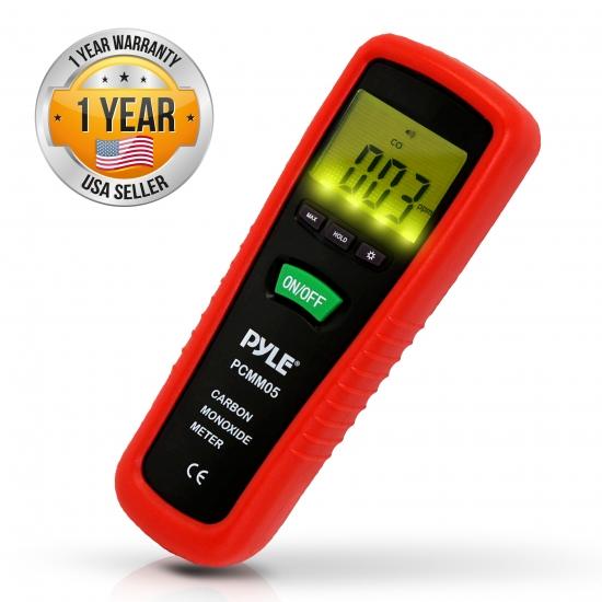 Pyle - PCMM05 , Tools and Meters , Carbon Monoxide and Leakage , Carbon Monoxide Meter