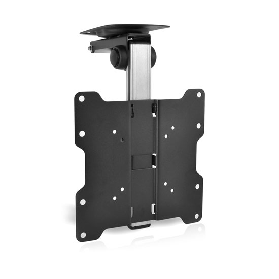 Universal Folding Hide Away Tv Ceiling Mount Bracket Fits Virtually All 17 37 Tvs Flat Panel Hdtv Lcd Led Plasma And Smart