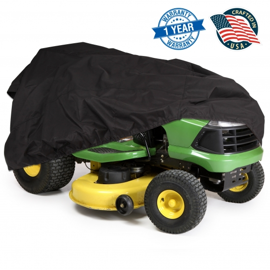 Pyle - PCVDT45 , Marine and Waterproof , Protective Storage Covers , On the Road , Protective Storage Covers , Armor Shield Lawn Tractor Mower Protective Storage Cover, Indoor/Outdoor, Universal Size