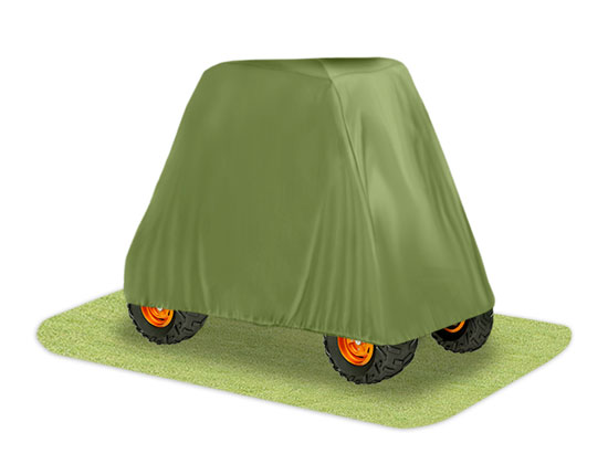 Pyle - PCVUTV10 , Marine and Waterproof , Protective Storage Covers , On the Road , Protective Storage Covers , Armor Shield 4 x 4 UTV Utility Vehicle Storage Protective Indoor/Outdoor Cover, Fits Vehicles up to  110'' Long, Olive Color (Fits Vehicles without Cabin/Rollbar/Roof)