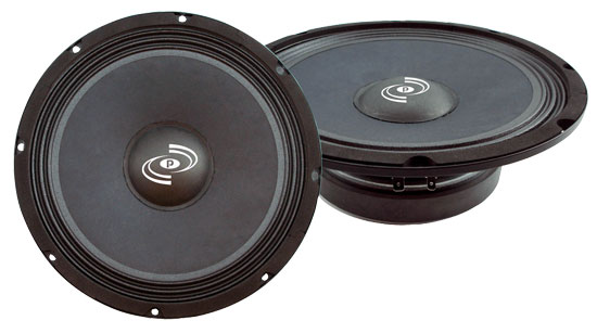Pyle - PCW8S , DJ Equipment , Midbass/Midrange Speakers/Woofers  , 8'' High Power High Performance Midbass