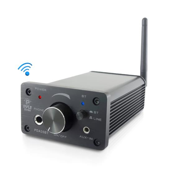 Pyle - PDA35BT , Sound and Recording , Amplifiers - Receivers , Compact Bluetooth Amplifier / Mini Headphone Amp, 100 Watt