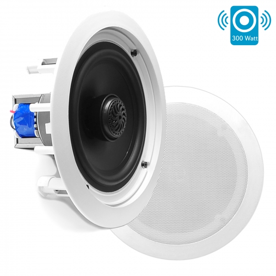 Pyle - PDIC80T , Home Audio / Video , In-Wall/Ceiling Speakers , 8'' Two-Way In-Ceiling Speakers w/70V Transformer