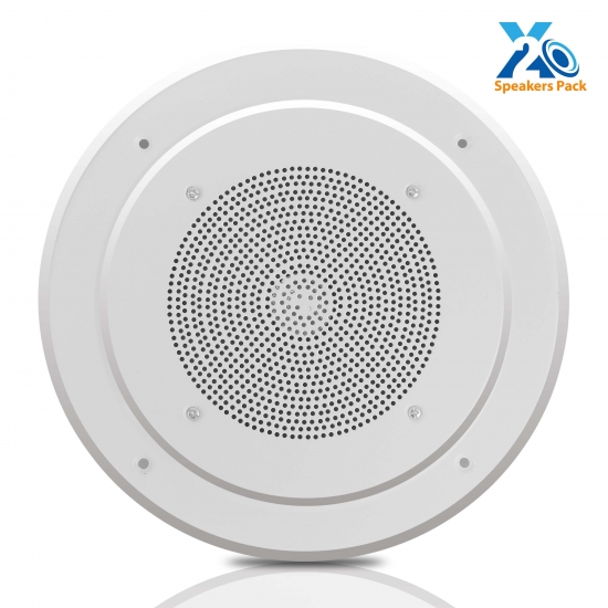 Pyle - PDICS8 , Home Audio / Video , In-Wall/Ceiling Speakers , 8'' Full Range In-Ceiling  Speaker System W/Transformer