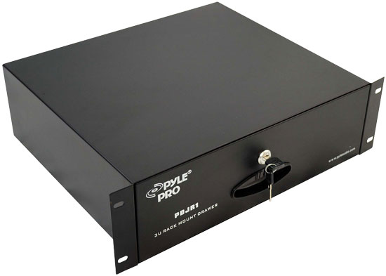 Pyle - PDJR1 , Sound and Recording , Audio Processors - Sound Reinforcement , Rack-Mountable Drawer