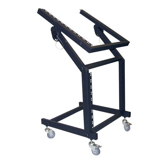 Pyle - PDJSD1 , DJ Equipment , DJ Racks , Steel DJ Rack For Mixer/Amp/DJ And All Rack Mountable  Products