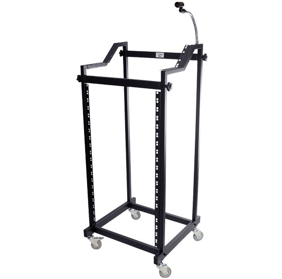 Pyle - PDJSD3 , Musical Instruments , Mounts - Stands - Holders , Sound and Recording , Mounts - Stands - Holders , DJ Stand W/Gooseneck and Mic Holder