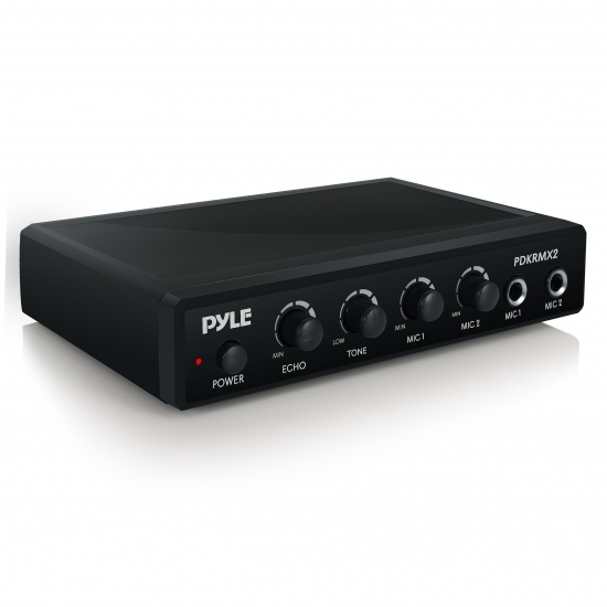 Pyle - PDKRMX2 , Musical Instruments , Microphone Systems , Sound and Recording , Microphone Systems , Audio Control Mixer,  Karaoke Audio Sound Mixer System