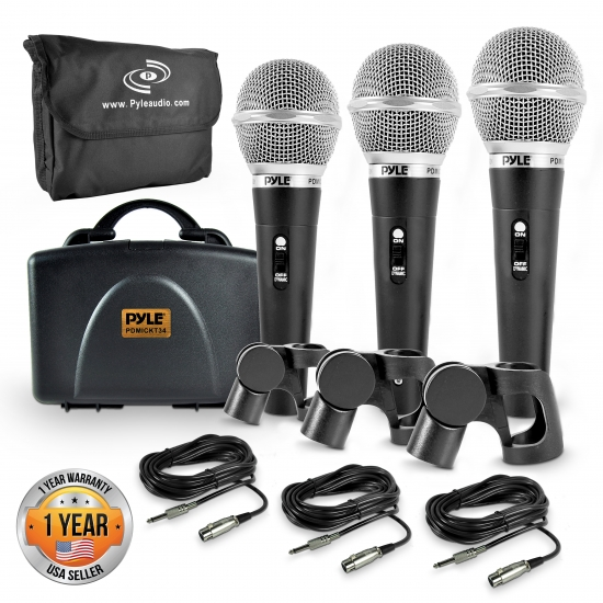 pyle pdmickt34 home and office microphones headsets musical instruments microphones. Black Bedroom Furniture Sets. Home Design Ideas