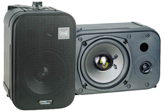 Pyle - PDMN48 , Home Audio / Video , Monitor Speakers , 5'' Two-Way Bass Reflex Mini-Monitor & Bookshelf/wall mount Speakers