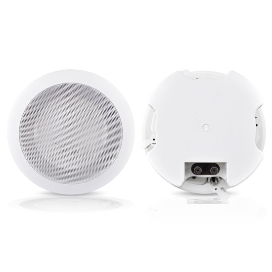 Pyle - PDPC52 , Home Audio / Video , In-Wall/Ceiling Speakers , 5 1/4'' In-Ceiling 2-Way Flush Mount Enclosure Speaker System