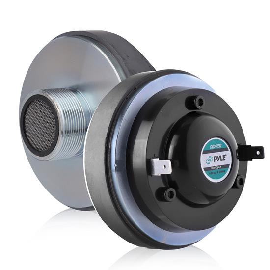 "Pyle - PDS341 , Sound and Recording , Tweeters - Horn Drivers , 1.35"" Titanium Horn Driver 8 Ohm 1-3/8"" x 18 TPI"
