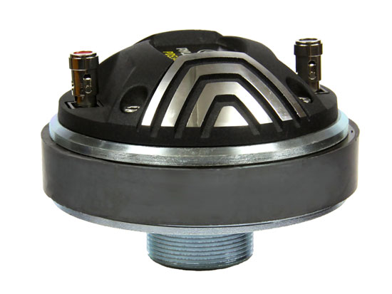 Pyle - PDS345 , DJ Equipment , DJ Tweeters and Horns , 1.35'' Titanium Ceramic Screw On Horn Driver At 8 Ohms