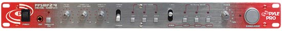 Pyle - PDSP850 , Sound and Recording , Audio Processors - Sound Reinforcement , 19'' Rack Mount Professional Digital Sampler