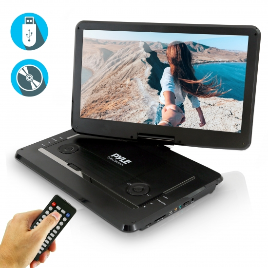 Pyle - PDV156BK - Home and Office - Portable DVD Players ...