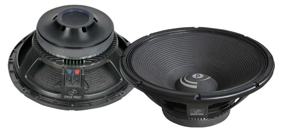 Pyle - PDW158 , DJ Equipment , Premium Replacement  Woofers , 15'' 1600 Watt Professional 8 OHM Replacement Subwoofer