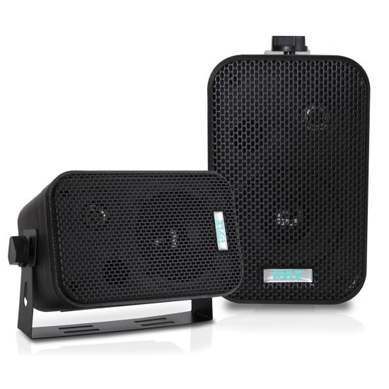 Pyle - PDWR30B , Home Audio / Video , Outdoor Speakers , 3.5'' Indoor/Outdoor Waterproof Speakers (Black)