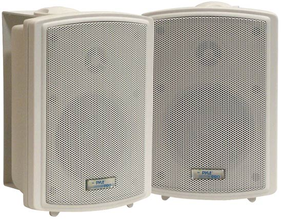 Pyle - PDWR3T , Home and Office , Outdoor Speakers , 3.5'' Indoor/Outdoor Waterproof Speakers w/15 Watt 70V Transformer