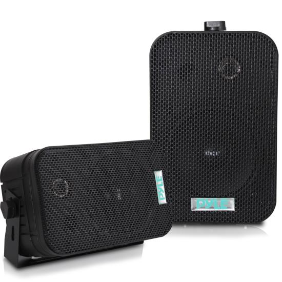 """Pyle - PDWR40B , Used , 5.25"""" Indoor/Outdoor Waterproof Speakers (Black)"""