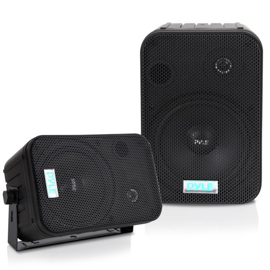 Pyle - PDWR50B , Marine and Waterproof , Weatherproof Speakers , 6.5'' Indoor/Outdoor Waterproof Speakers (Black)