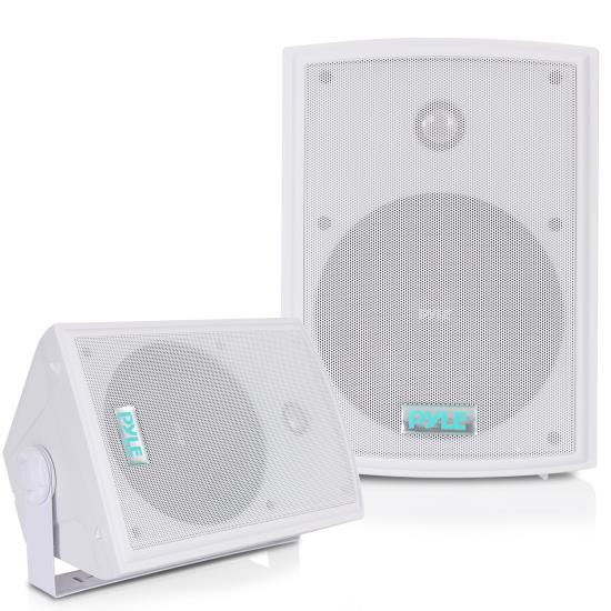 Pyle - PDWR63 , Marine and Waterproof , Weatherproof Speakers , 6.5'' Indoor/Outdoor Waterproof On Wall Speakers