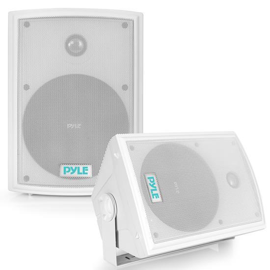 Pyle - PDWR63 , Used , 6.5'' Indoor/Outdoor Waterproof On Wall Speakers