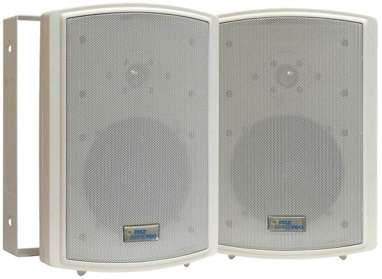 Pyle - PDWR6T , Home Audio / Video , Indoor/Outdoor Speakers , 6.5'' Indoor/Outdoor Waterproof Wall Mount Speakers w/50 Watt 70V Transformer