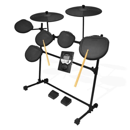 Pyle - AZPED021M , Musical Instruments , Drums , Digital Drum Set, Electronic Drum Machine System (7-Pad Drum Kit)