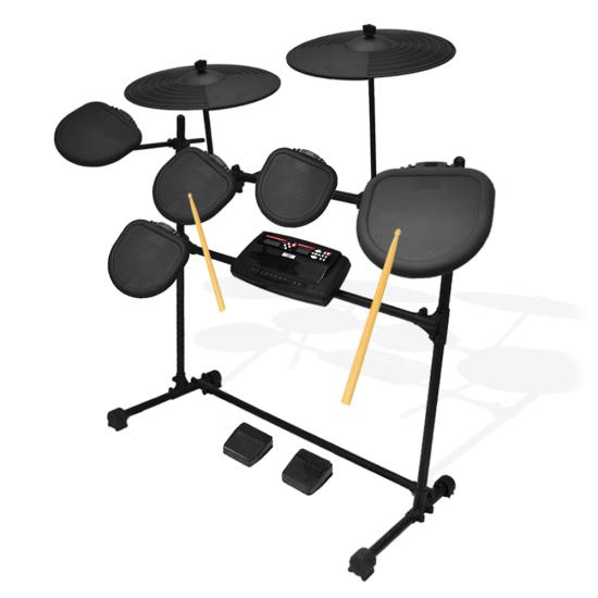 Pyle - PED02M , Musical Instruments , Instrument Accessories , Electric Thunder Drum Kit With MP3 Recorder