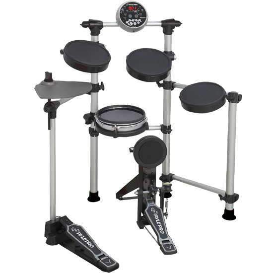 Pyle - PED06 , Musical Instruments , Drums , High Performance Digital Drum Set