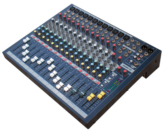 Pyle - PEMP12 , DJ Equipment , DJ Mixers , 12 Channel Console Stereo Mixer