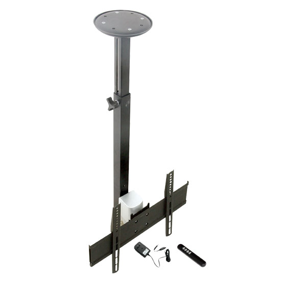 Pyle - PETR104 , Musical Instruments , Mounts - Stands - Holders , Sound and Recording , Mounts - Stands - Holders , 17'' To 37'' Motorized Universal Flat Panel TV Tilted Ceiling Mount