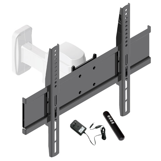 Pyle - PETW102 , Musical Instruments , Mounts - Stands - Holders , Sound and Recording , Mounts - Stands - Holders , 17'' to 37'' Motorized Universal Flat Panel TV Tilt wall mount