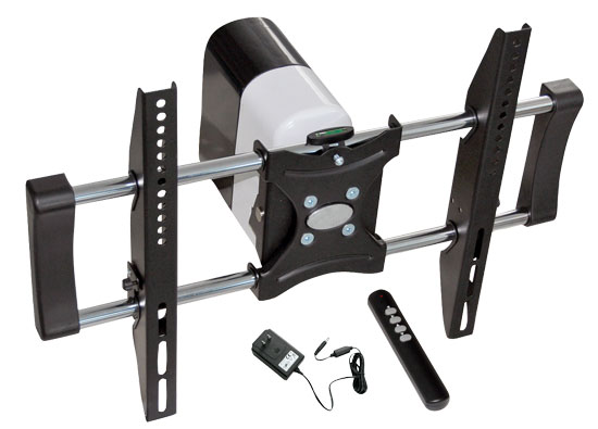 Pyle - PETW103 , Musical Instruments , Mounts - Stands - Holders , Sound and Recording , Mounts - Stands - Holders , 26'' To 42''Motorized Universal Flat Panel TV Tilt Wall Mount
