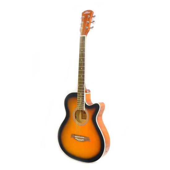 Pyle - UPGA36 , Musical Instruments , Guitars , 6-String Acoustic Guitar, Full Scale, Accessory Kit Included