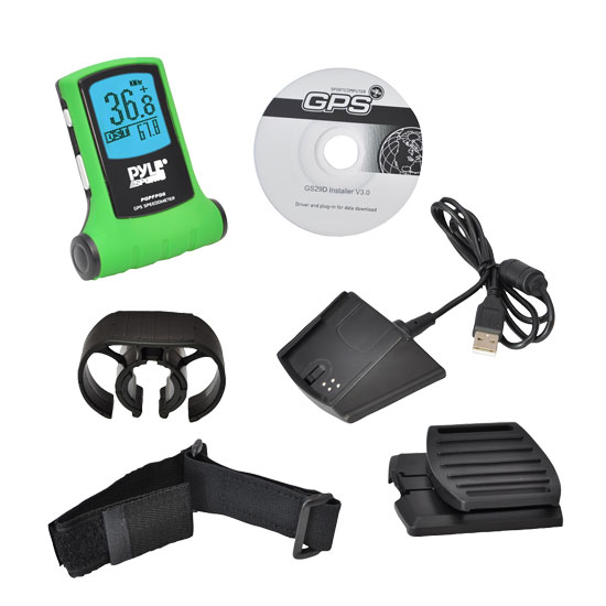 Pyle - PGPFPD5 , Sports & Outdoors , Sports Watches , GPS Speedometer Navigator Device