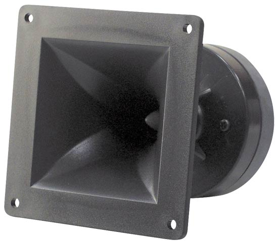 Pyle - PH44 , DJ Equipment , DJ Tweeters and Horns , 4'' x 4'' Horn Tweeter