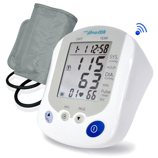 Pyle - PHBPB20 , Health and Fitness , Blood Pressure Monitors , Bluetooth Blood Pressure Monitor with Downloadable Health Tracking App