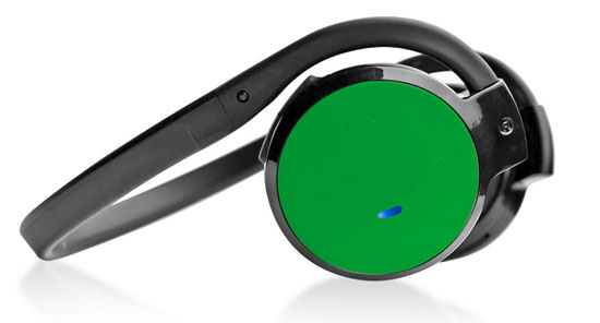 Pyle - PHBT5G , Home Audio / Video , Bluetooth Devices , Stereo Bluetooth Streaming Wireless Headphones with Built-in Microphone - Works with All Bluetooth-Enabled Phones & Devices (Green)