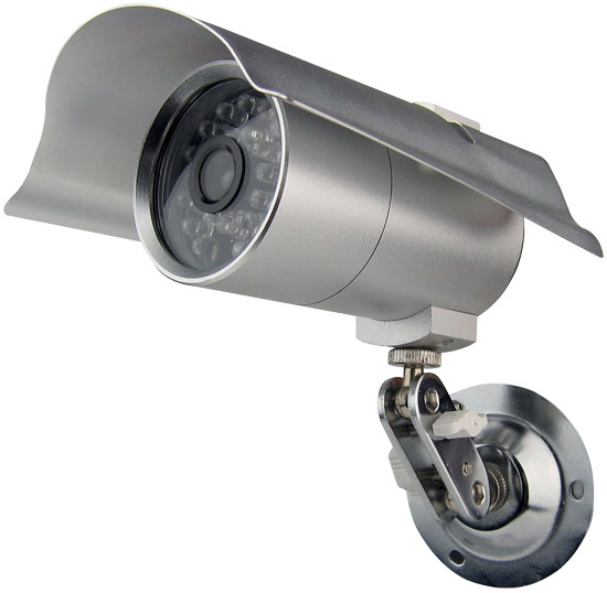 "Pyle - PHCM29 , Home Audio / Video , Security & Surveilance , Indoor/Outdoor Security Camera with 65 Foot Night Vision, 1/4"" Sharp CCD"
