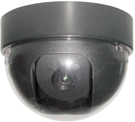 Pyle - PHCM31 , Home Audio / Video , Security & Surveilance , Indoor Dome Security Surveillance Camera with 1/4'' Sharp CCD