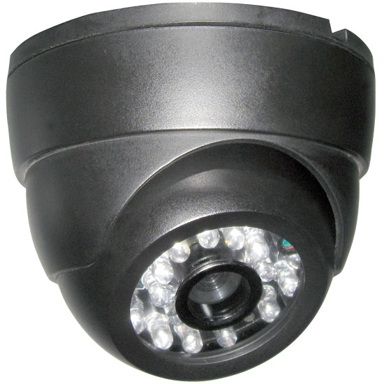 "Pyle - PHCM35 , Home Audio / Video , Security & Surveilance Monitors , Dome Video Surveillance  Night Vision Camera 1/4"" Sharp CCD 420TVL, 12V/500mA Power adapter Included"