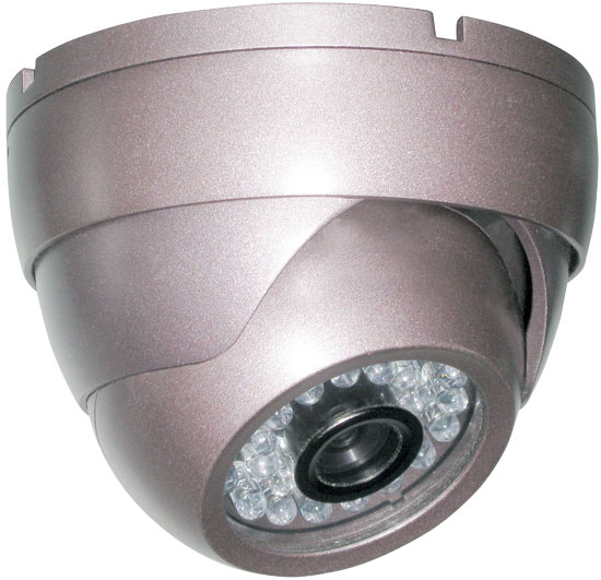 Pyle - PHCM36 , Home Audio / Video , Security & Surveilance Monitors , Indoor Dome Video Surveillance Night Vision Camera, 1/4'' Sony CCD
