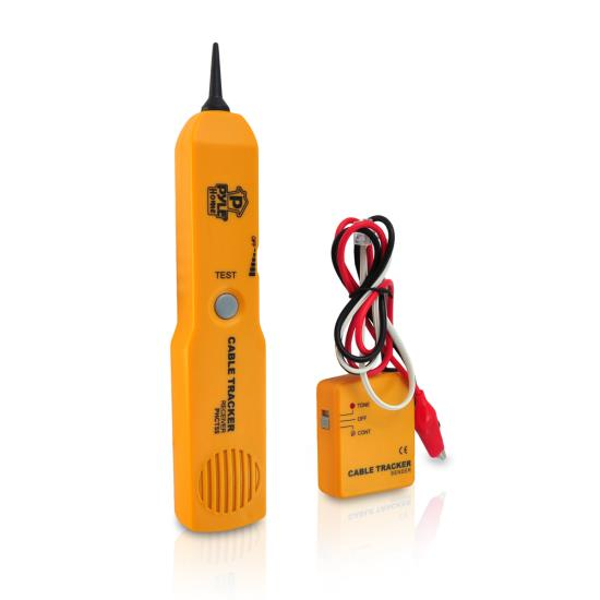 Pyle - PHCT55 , Tools and Meters , Network and Cable Testers , Telephone Wire Cable Tester For Testing Continuity With Sender And Receiver